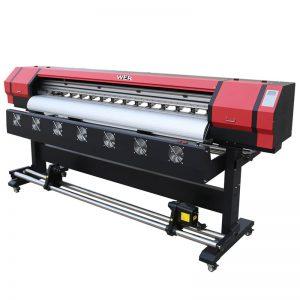 Impresora solvente del eco de la cabeza WER-ES1901 DX5 / DX7 de 6 pies que imprime en el proveedor de Guangzhou
