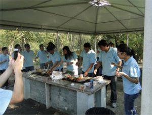 BBQ en Gucun Park, Otoño 2014