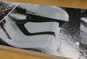 Cartelera impresa por la impresora UV de gran formato WER-G2513UV