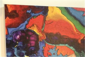 Impresión en lienzo muestra de WER-E2000UV