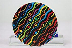 Muestras de impresiones cerámicas de Rioch head uv WER-G2513UV