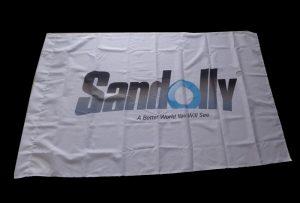 Bandera de tela Bandera impresa por 1.6m (5 pies) eco solvente impresora WER-ES160
