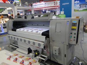 Máquina de impresión de cuero