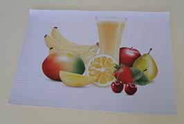 Estandarte de PVC impreso por 3.2m (10 pies) eco solvente impresora WER-ES3201