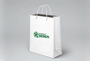 Bolsa de papel de impresión de muestra impresa por A1 tamaño uv impresora WER EPEP9090UV