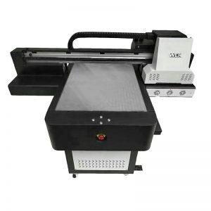 Impresora UV de cama plana de tamaño pequeño y de alta calidad para el teléfono WER-ED6090UV