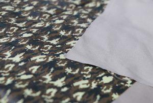 Muestra de impresión textil 1 mediante máquina de impresión digital textil WER-EP7880T