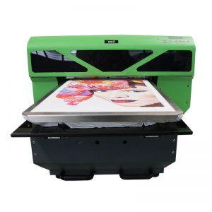 A2 tamaño DTG directo a la máquina impresora máquina de impresión de camiseta WER-D4880T