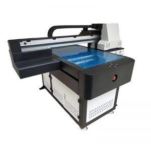 Mejor precio 3d A3 textil digital vinilo azulejo cerámica UV led impresora plana con 8 colores WER-ED6090UV
