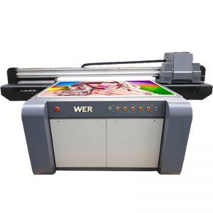 Impresora digital acrílica impresora UV de cama plana WER-EF1310UV