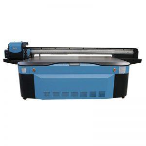 Impresora plana UV de barniz blanco CMYK LCLM a todo color 3D WER-G2513UV
