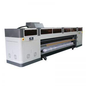 Máquina de inyección de tinta digital de alta resolución de alta resolución con trazador UV de cabezal de impresión ricoh gen5 WER-G-3200UV