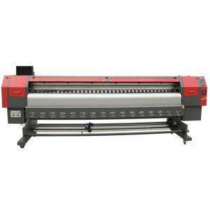Impresora solvente de alta velocidad de 3,2 m, precio de máquina de impresión de pancartas flex digital WER-ES3202