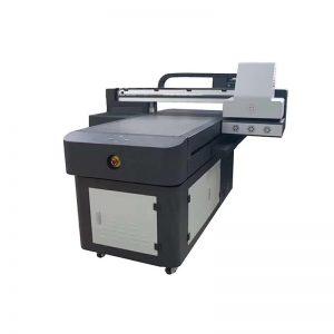 Impresora pvc máquina impresora de inyección de tinta digital textil para plástico WER-ED6090UV
